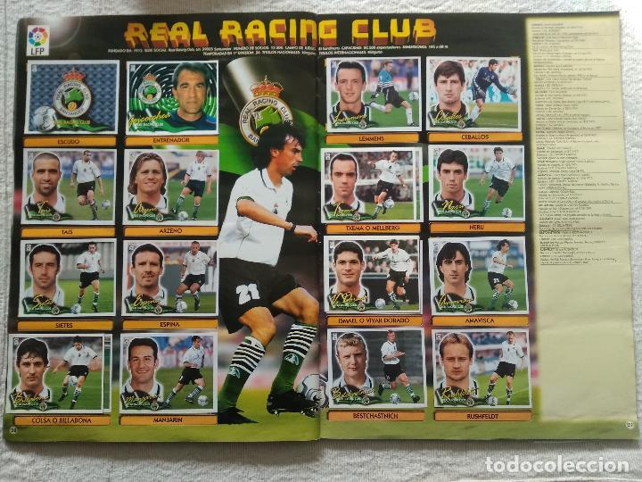 Coleccionismo deportivo: ALBUM CASI COMPLETO EDICIONES ESTE LIGA 00 01 2000 2001 VER FOTOS COMPLETAS - Foto 17 - 246039410