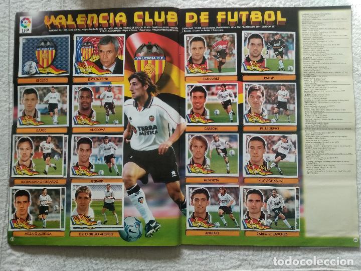 Coleccionismo deportivo: ALBUM CASI COMPLETO EDICIONES ESTE LIGA 00 01 2000 2001 VER FOTOS COMPLETAS - Foto 20 - 246039410