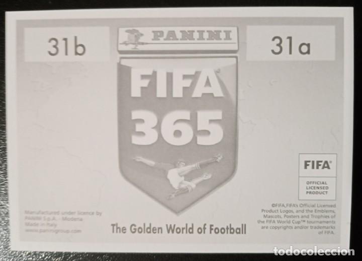 Coleccionismo deportivo: Figurina Panini Cromo Fifa 365 2020 21 2021 Alexander-Arnold Tsimikas Liverpool num 31 - Foto 2 - 246193195