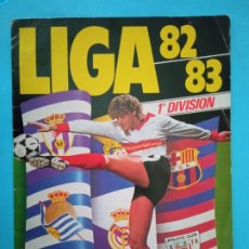Coleccionismo deportivo: ED.ESTE ALBUM 82/83 VACIO INTERIOR EXCELENTE,NUNCA HA TENIDO CROMOS PEGADOS. Lote 247061100