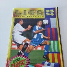 Colecionismo desportivo: ALBUM LIGA ESTE 95 96 1995 1996 CONTIENE 209 CROMOS PEGADOS MUY BUEN ESTADO. Lote 247467885