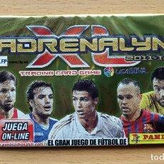 Coleccionismo deportivo: SOBRE SIN ABRIR ADRENALYN XL 2011 2012 LIGA 11 12 CRISTIANO RONALDO REAL MADRID / INIESTA BARCELONA. Lote 247526220