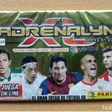 Coleccionismo deportivo: SOBRE SIN ABRIR ADRENALYN XL 2011 2012 LIGA 11 12 MESSI FC BARCELONA / OZIL / NEGREDO / LLORENTE. Lote 247526915