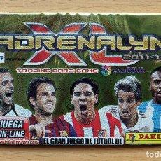 Coleccionismo deportivo: SOBRE SIN ABRIR ADRENALYN XL 2011 2012 LIGA 11 12 CESC FC BARCELONA / FALCAO / COENTRAO / BAPTISTA. Lote 247527550