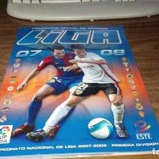Coleccionismo deportivo: ED. ESTE 2007 2008 07 08 - ALBUM CON 346 CROMOS (37 FICHAJES). Lote 247672445