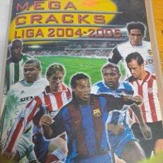 Collectionnisme sportif: MEGACRACKS 2004/2005 COLECCION CASI COMPLETA. Lote 247702450
