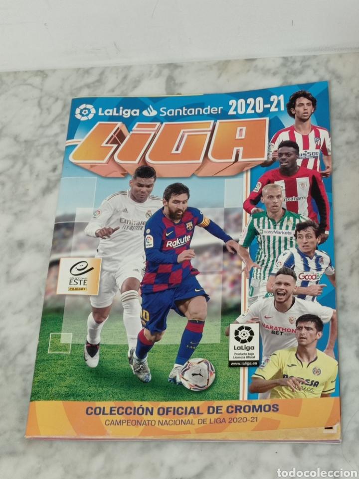 ALBUM FUTBOL PANINI LIGA 2020-21 VACIO (Coleccionismo Deportivo - Álbumes y Cromos de Deportes - Álbumes de Fútbol Incompletos)