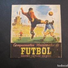 Coleccionismo deportivo: CAMPEONATOS NACIONALES DE FUTBOL-ALBUM VACIO-EDITORIAL RUIZ ROMERO-VER FOTOS-(K-2065). Lote 248073070