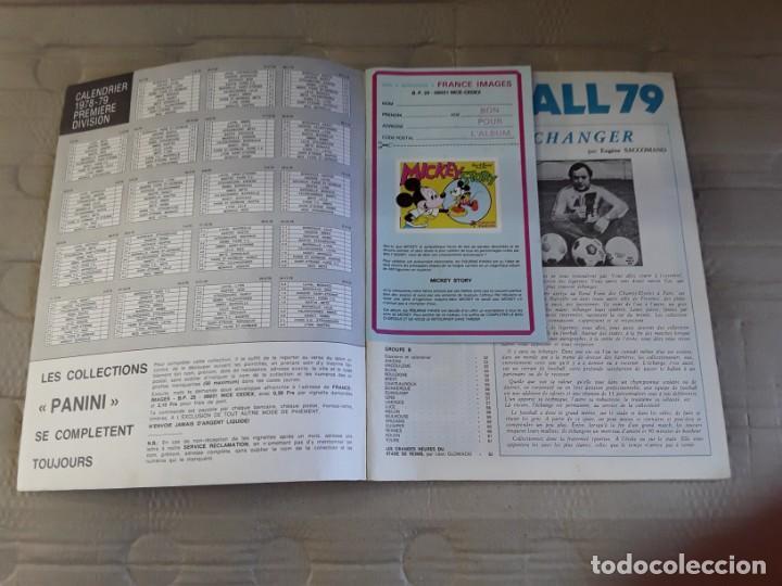 Coleccionismo deportivo: Panini Álbúm France Football 79 en images. Original de época; año 1979. Division I y division II - Foto 3 - 226485115