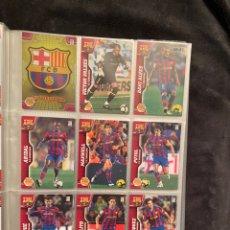Coleccionismo deportivo: ALBUM MEGACRACKS 2010 2011 CON 472 CROMOS LLEVA TODOS LOS MESSI Y RONALDO Y NUEVOS DE SOBRE. Lote 251685485