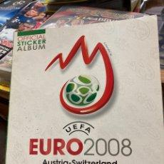 Coleccionismo deportivo: ÁLBUM DE CROMOS EURO 2008 VACÍO. Lote 252265695
