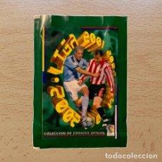 Coleccionismo deportivo: SOBRE SIN ABRIR NUEVO EDICIONES ESTE 2001 2002 LIGA 01 02 ROOKIE ? XABI ALONSO. Lote 252952035