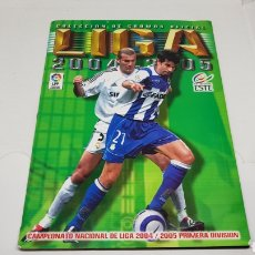 Coleccionismo deportivo: ALBUM EDICIONES ESTE LIGA 04 05 2004 2005 INCOMPLETO. Lote 253106585