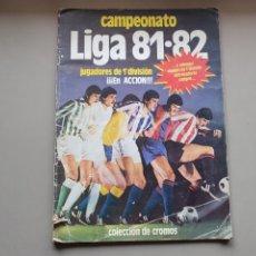 Collectionnisme sportif: ALBUM PLANCHA 81 82 1981 1982 CON POCOS CROMOS. Lote 253444835