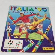 Coleccionismo deportivo: ALBUM MUNDIAL ITALIA 90 PANINI SOLO FALTAN 18 CROMOS BUEN ESTADO SIN PINTADAS. Lote 253730740