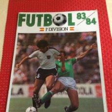 Colecionismo desportivo: ALBUM FUTBOL 83/84 - CROMOS CANO - ALBUM VACÍO - SIN CROMOS - PLANCHA. Lote 253748650