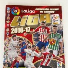 Colecionismo desportivo: ÁLBUM LIGA 2016-17 COLECCIONES ESTE PANINI 2017. Lote 253790625