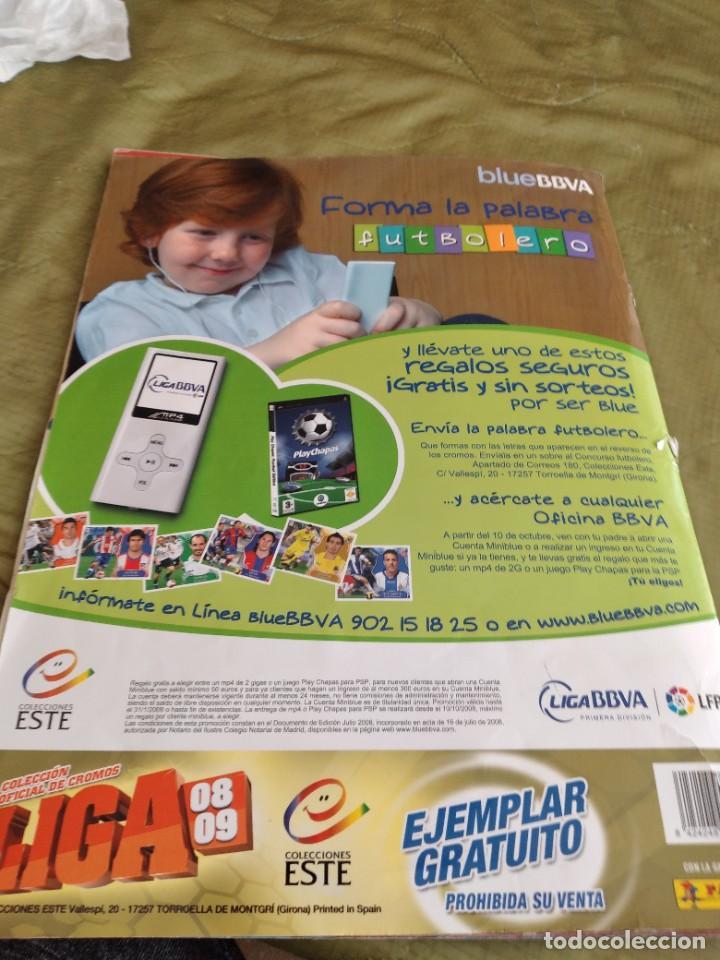 Coleccionismo deportivo: M-33 ALBUM DE FUTBOL ESTE PANINI LIGA 2008 2009 08 09 VER FOTOS PARA ESTADO Y CROMOS INCLUYE MESSI - Foto 36 - 253812750