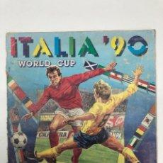Coleccionismo deportivo: ÁLBUM PANINI MUNDIAL DE FÚTBOL ITALIA 90. Lote 253867875