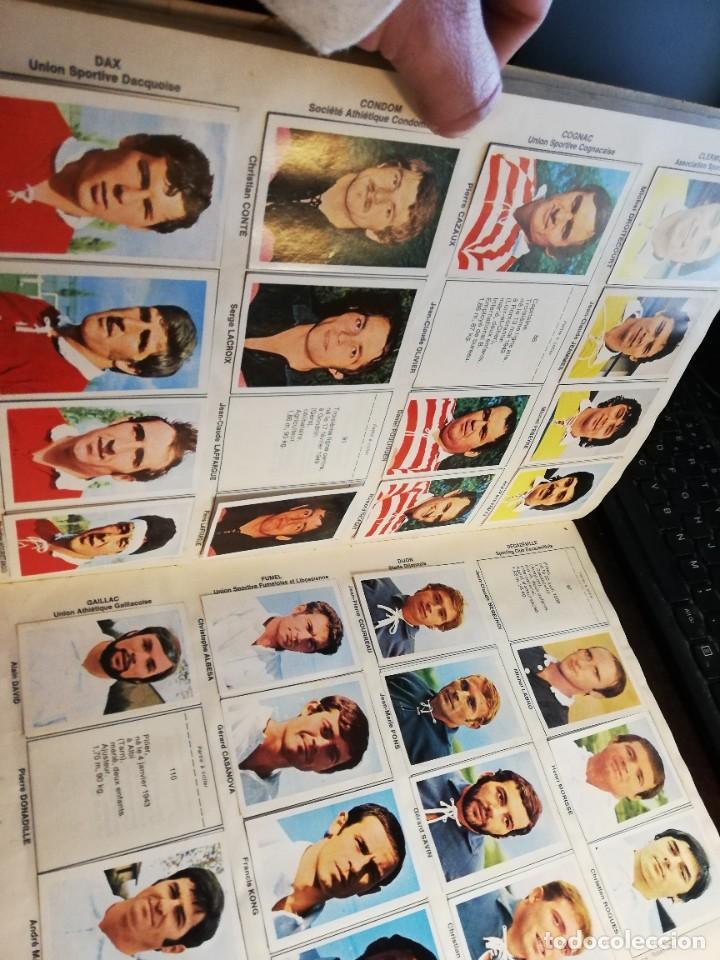 Coleccionismo deportivo: LOTE 3 ALBUMS DE CROMOS LIGA DE FUTBOL Y ETOILES DE RUGBY Y DE FOOTBALL FRANCIA Y LOTE DE CROMOS - Foto 6 - 253926600