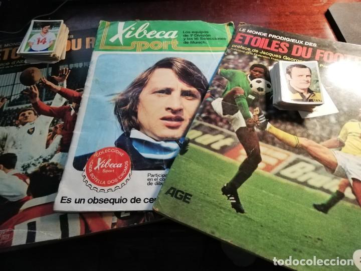 Coleccionismo deportivo: LOTE 3 ALBUMS DE CROMOS LIGA DE FUTBOL Y ETOILES DE RUGBY Y DE FOOTBALL FRANCIA Y LOTE DE CROMOS - Foto 32 - 253926600