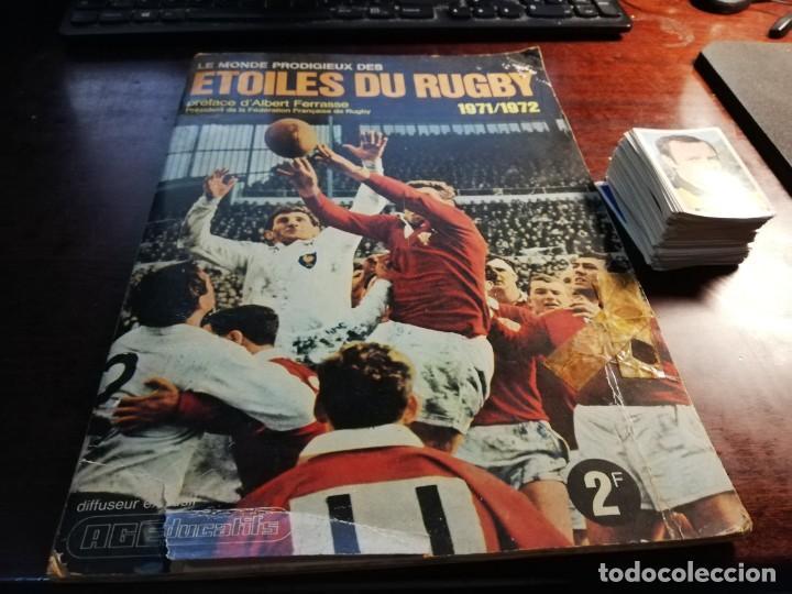 Coleccionismo deportivo: LOTE 3 ALBUMS DE CROMOS LIGA DE FUTBOL Y ETOILES DE RUGBY Y DE FOOTBALL FRANCIA Y LOTE DE CROMOS - Foto 34 - 253926600
