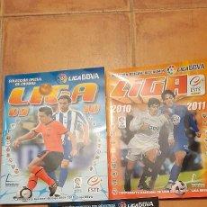 Coleccionismo deportivo: LIGA BBVA 2009 - 2010 * 2010 - 2011 * 2011 - 2012 COLECCIONES ESTE. Lote 254099960