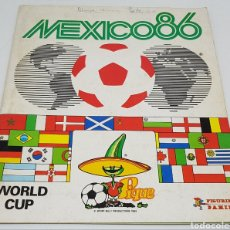 Colecionismo desportivo: ALBUM PANINI MUNDIAL MEXICO 86 CON 139 CROMOS CON MARADONA. Lote 254217635