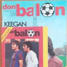 Coleccionismo deportivo: DON BALON N.º 170 - 9 AL 15 ENERO 1979 - CON ALBUM DON BALON GENERAL DE CONFITERIA GRAPADO. Lote 254334575