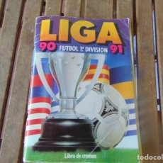 Coleccionismo deportivo: ALBUM DE FUTBOL EDICIONES ESTE TEMPORADA 1990 1991 90 91 INCOMPLETO. Lote 254396825