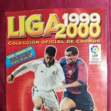 Coleccionismo deportivo: ALBUM DE CROMOS INCOMPLETO. LIGA 1999 2000 PANINI PREMIUM. Lote 254646880