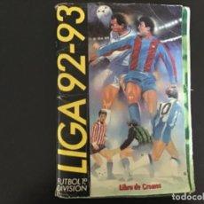 Colecionismo desportivo: ESTE 1992 1993 92 93 ÁLBUM 330 CROMOS CON COLOCAS Y 30 FICHAJES. ESTÁ MARADONA. Lote 255484990