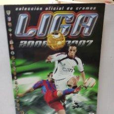 Coleccionismo deportivo: ALBUM LIGA 2006/07 COLECCIONES ESTE CON 336 CROMOS CON MESSI Y RAMOS. Lote 255579390