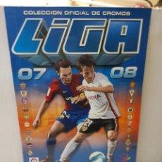 Coleccionismo deportivo: ALBUM LIGA 2007/08 COLECCIONES ESTE CON 260 CROMOS CON MESSI. Lote 255586415