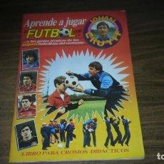 Coleccionismo deportivo: APRENDE A JUGAR A FUTBOL CON JOHAN CRUYFF ( GEPRODESA, 1984) - INOMPLETO A FALTA SOLO DE 2 CROMOS. Lote 255597635