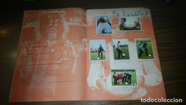 Coleccionismo deportivo: APRENDE A JUGAR A FUTBOL CON JOHAN CRUYFF ( GEPRODESA, 1984) - INOMPLETO A FALTA SOLO DE 2 CROMOS - Foto 4 - 255597635