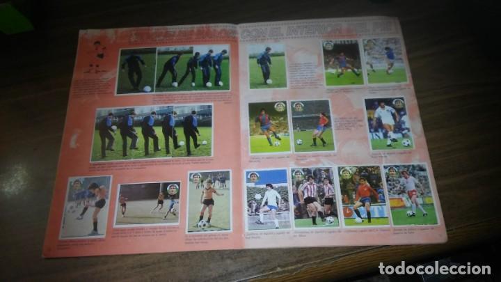 Coleccionismo deportivo: APRENDE A JUGAR A FUTBOL CON JOHAN CRUYFF ( GEPRODESA, 1984) - INOMPLETO A FALTA SOLO DE 2 CROMOS - Foto 7 - 255597635