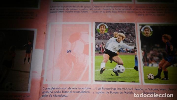 Coleccionismo deportivo: APRENDE A JUGAR A FUTBOL CON JOHAN CRUYFF ( GEPRODESA, 1984) - INOMPLETO A FALTA SOLO DE 2 CROMOS - Foto 9 - 255597635