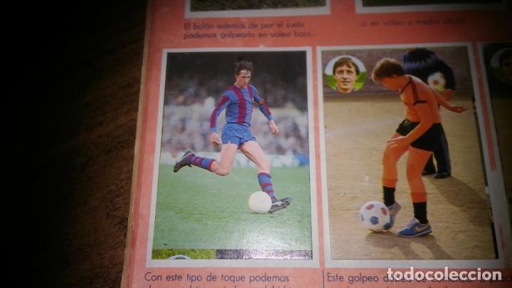 Coleccionismo deportivo: APRENDE A JUGAR A FUTBOL CON JOHAN CRUYFF ( GEPRODESA, 1984) - INOMPLETO A FALTA SOLO DE 2 CROMOS - Foto 11 - 255597635