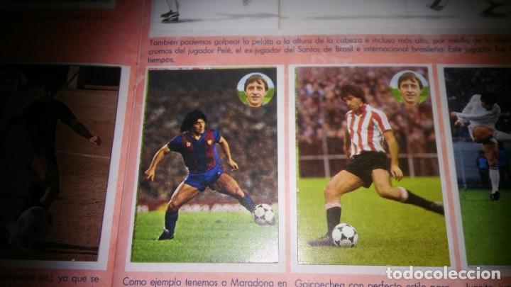 Coleccionismo deportivo: APRENDE A JUGAR A FUTBOL CON JOHAN CRUYFF ( GEPRODESA, 1984) - INOMPLETO A FALTA SOLO DE 2 CROMOS - Foto 12 - 255597635