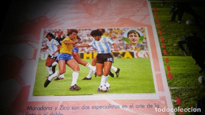 Coleccionismo deportivo: APRENDE A JUGAR A FUTBOL CON JOHAN CRUYFF ( GEPRODESA, 1984) - INOMPLETO A FALTA SOLO DE 2 CROMOS - Foto 21 - 255597635