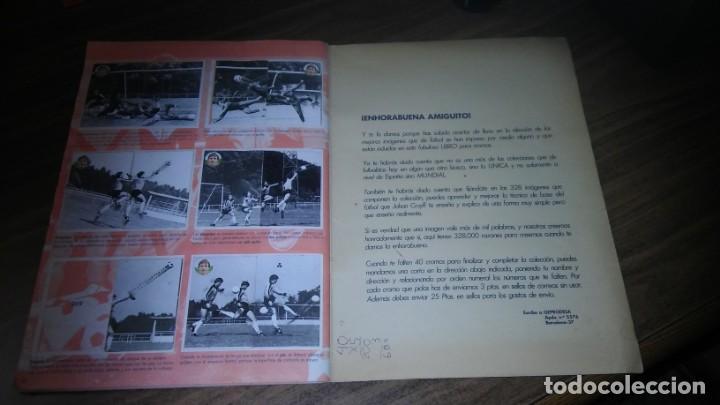 Coleccionismo deportivo: APRENDE A JUGAR A FUTBOL CON JOHAN CRUYFF ( GEPRODESA, 1984) - INOMPLETO A FALTA SOLO DE 2 CROMOS - Foto 24 - 255597635