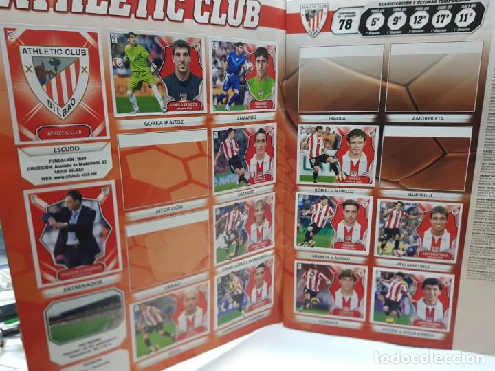 Coleccionismo deportivo: Album Liga 2008/09 Colecciones Este con 385 cromos Con Messi - Foto 3 - 255599335