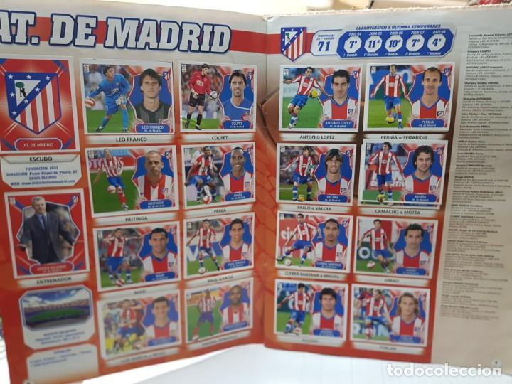 Coleccionismo deportivo: Album Liga 2008/09 Colecciones Este con 385 cromos Con Messi - Foto 4 - 255599335