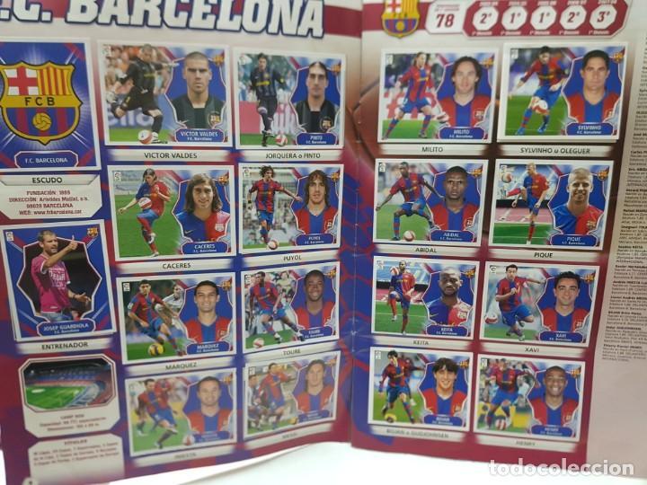 Coleccionismo deportivo: Album Liga 2008/09 Colecciones Este con 385 cromos Con Messi - Foto 5 - 255599335