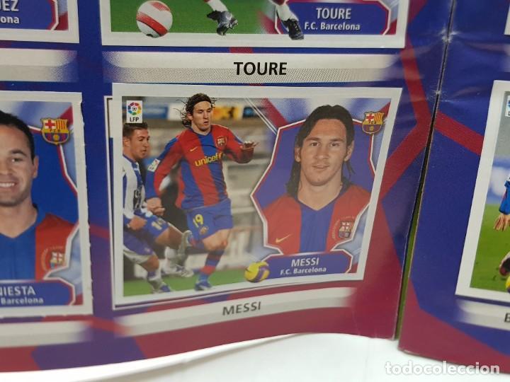 Coleccionismo deportivo: Album Liga 2008/09 Colecciones Este con 385 cromos Con Messi - Foto 6 - 255599335