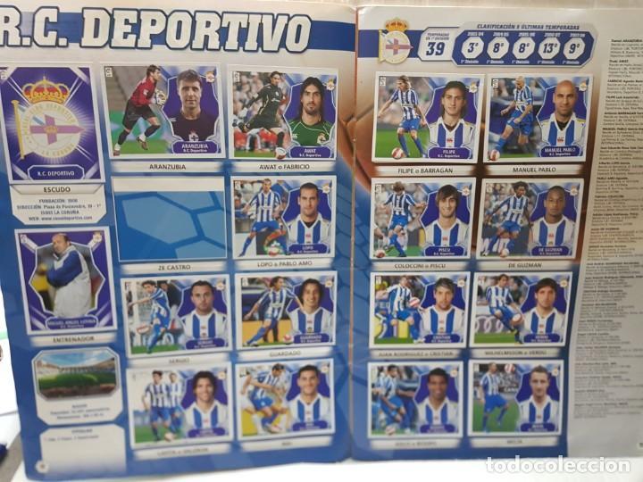 Coleccionismo deportivo: Album Liga 2008/09 Colecciones Este con 385 cromos Con Messi - Foto 8 - 255599335