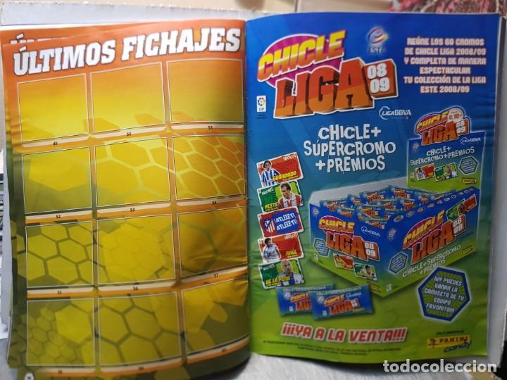 Coleccionismo deportivo: Album Liga 2008/09 Colecciones Este con 385 cromos Con Messi - Foto 26 - 255599335