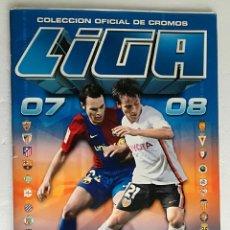 Coleccionismo deportivo: ALBUM DE FUTBOL LIGA 2007-08, ESTE - CONTIENE 472 CROMOS. Lote 257353270