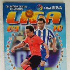 Coleccionismo deportivo: ALBUM DE FUTBOL LIGA 2009-10, ESTE - CONTIENE 444 CROMOS. Lote 257353530